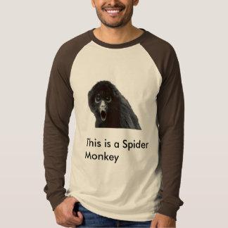 Camiseta Esto es un mono de araña