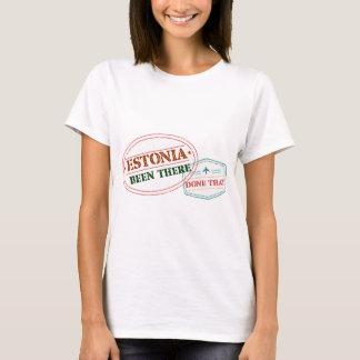 Camiseta Estonia allí hecho eso