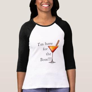 Camiseta Estoy aquí para el cóctel WomensTshirt de los