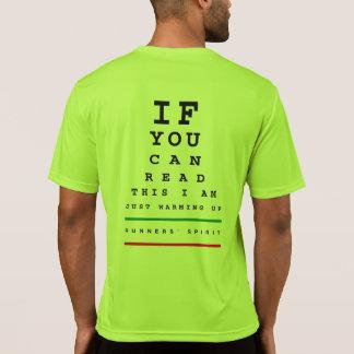 Camiseta Estoy calentando la carta de ojo - funcionamiento