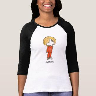 Camiseta Estoy con ella al lado del raglán de las