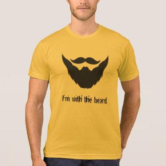 Camiseta Estoy con la barba