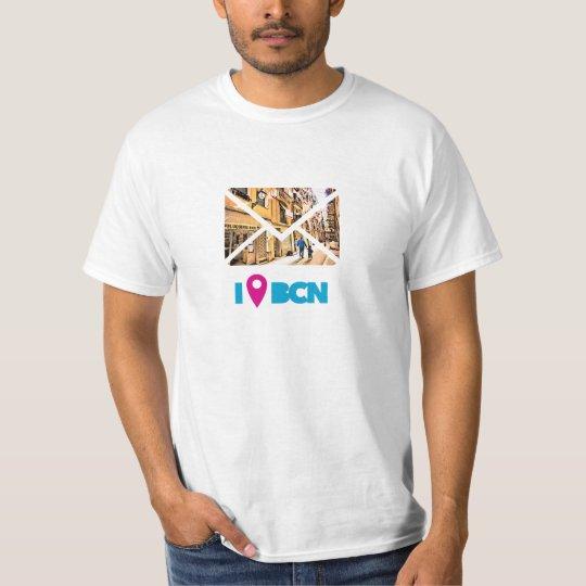 Camiseta #estoy en BCN