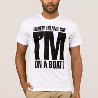 Camiseta Estoy en un barco