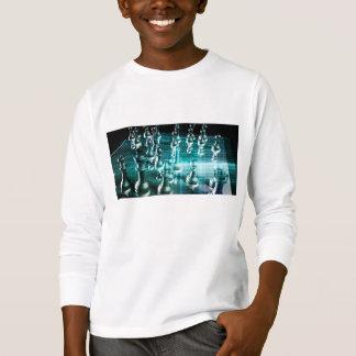 Camiseta Estrategia empresarial con un concepto del tablero