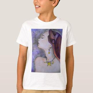 Camiseta Estrella de la luz de la estrella brillante