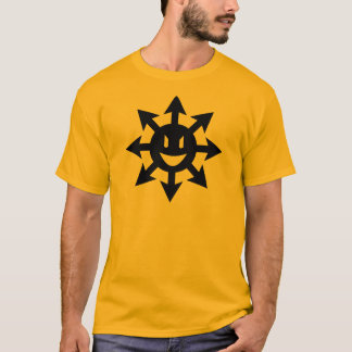 Camiseta Estrella sonriente del caos