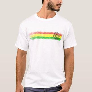 Camiseta Estrella y cruz del reggae de Rasta
