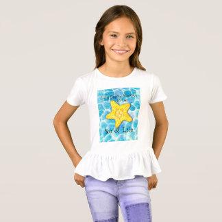 """Camiseta Estrellas de mar en el océano """"mar de la vida """""""