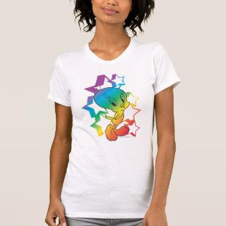 Camiseta Estrellas del arco iris de Tweety