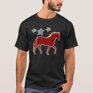 Camiseta Estrellas festivas de Mangalarga Marchador