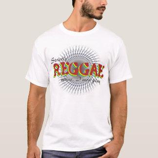 Camiseta Estrictamente juego de la música I lunes del