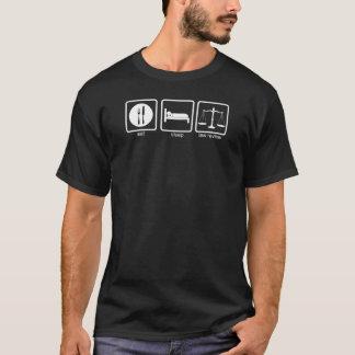 Camiseta Estudio 2 de la ley de Verne del La - blanco