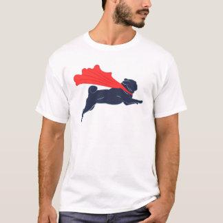 Camiseta estupenda del barro amasado
