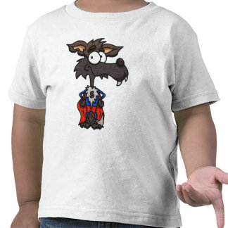 Camiseta estupenda del niño del lobo