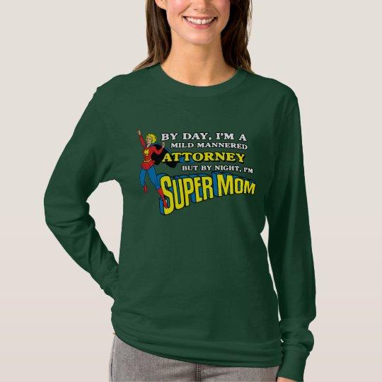 Camiseta estupenda divertida del abogado de la