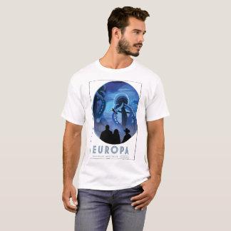 Camiseta Europa - descubra la vida debajo del hielo