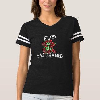 Camiseta Eve fue enmarcado