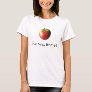 Camiseta ¡Eve fue enmarcado!