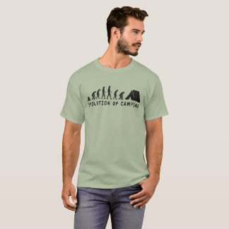 Camiseta Evolución de acampar