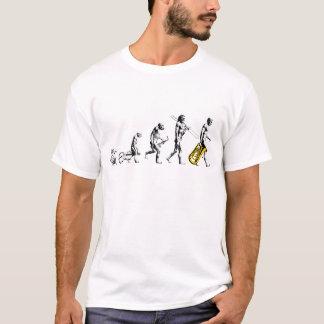 Camiseta Evolución de la tuba - ningún tagline