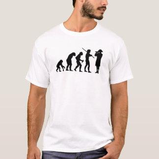 Camiseta Evolución del hombre