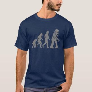 Camiseta Evolución del robot - nuestros nuevos Overlords