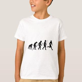 Camiseta Evolución del rugbi