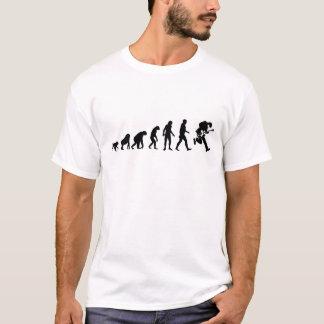 Camiseta Evolución humana: Estrella del rock