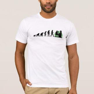 Camiseta Evolución humana: Pianista