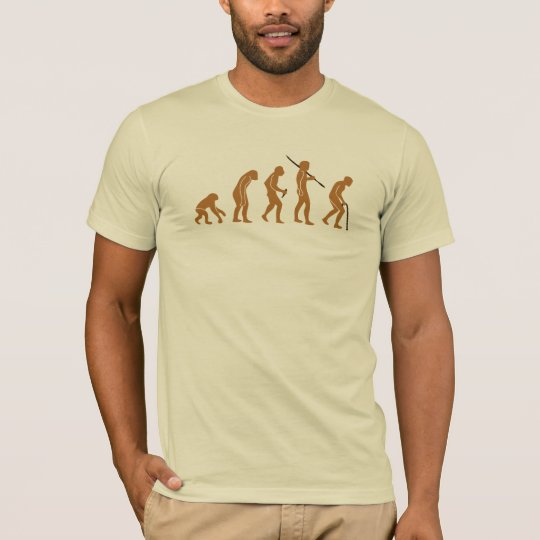 Camiseta Evolución T para hombre del bastón