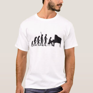 Camiseta evolution piano