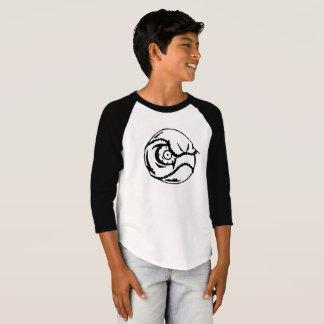 Camiseta excéntrica del béisbol