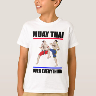 Camiseta Excesivo tailandés de Muay todo