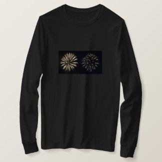 Camiseta Exhibición del fuego artificial, manga larga