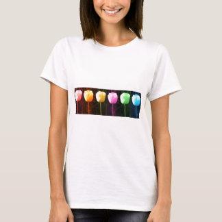 Camiseta Exhibición floral del TULIPÁN: REGALO barato del