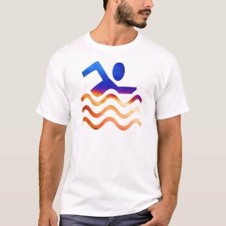 Camiseta Éxito de la natación - mente fresca en épocas