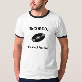 Camiseta EXPEDIENTES… ¡La frontera del vinilo!