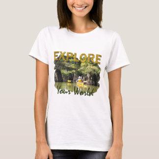 Camiseta Explore su mundo
