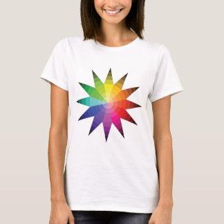 Camiseta Explosión de la rueda de color