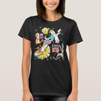 Camiseta Explosión nostálgica colorida