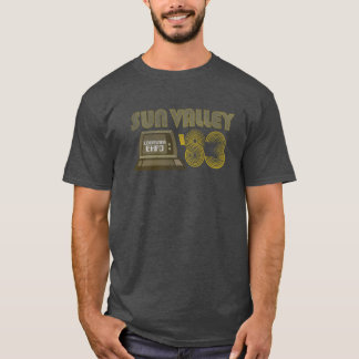 Camiseta Expo 1983 del ordenador de Sun Valley del vintage