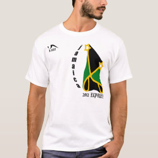 Camiseta expresa 2012 de Jamaica