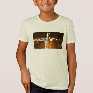 Camiseta Extracto de la ciencia como arte del fondo del