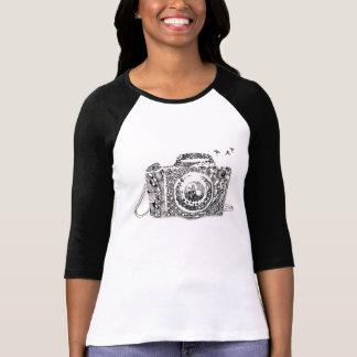Camiseta Extracto: la vida es como una cámara