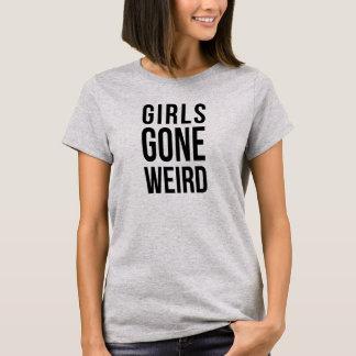 Camiseta extraña ida chicas Tumblr