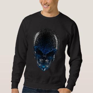 Camiseta extranjera de la oscuridad del cráneo