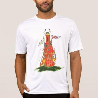 Camiseta extranjera del equipo del servicio de la