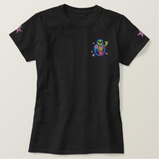 Camiseta extranjera del remiendo del bordado de polo bordado
