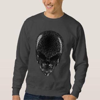 Camiseta extranjera gris de la oscuridad del